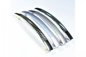 Ручка скоба 345-96 (2050) хром (100*) - Оптовый поставщик комплектующих «Виком»