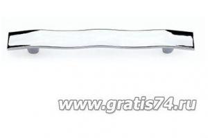 Ручка скоба 5421 хром - Оптовый поставщик комплектующих «ГРАТИС»