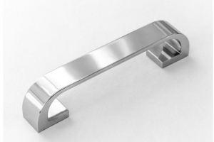 Ручка скоба 766-128 хром - Оптовый поставщик комплектующих «Озёрская фурнитурная компания»
