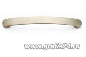 Ручка скоба 8154 матовый хром - Оптовый поставщик комплектующих «ГРАТИС»