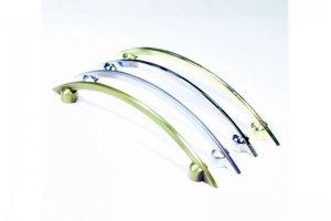 Ручка скоба 8849-96мм (S-2100) , бронза (100*) - Оптовый поставщик комплектующих «Виком»