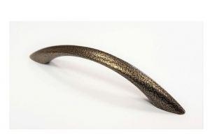 Ручка скоба 96мм, Россия пол. бронза (100*) - Оптовый поставщик комплектующих «Виком»