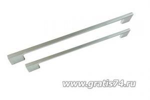 Ручка скоба Diana матовый хром 16568 - Оптовый поставщик комплектующих «ГРАТИС»