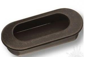 Ручка врезная черная 4858-66 - Оптовый поставщик комплектующих «Брасс»