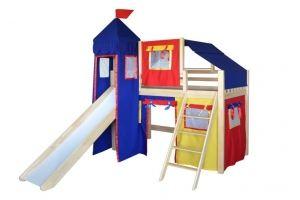 Кровать в детскую Рыцарь-1 - Мебельная фабрика «Мебель Холдинг»
