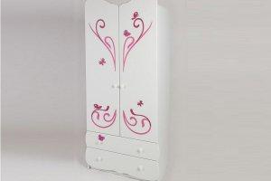 Шкаф в детскую Бабочка - Мебельная фабрика «Сафаня»