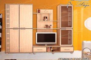 Стенка в гостиную Сафари-1 - Мебельная фабрика «Дара»