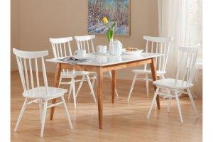 Прямоугольный обеденный стол Самурай 2 - Мебельная фабрика «Экомебель»