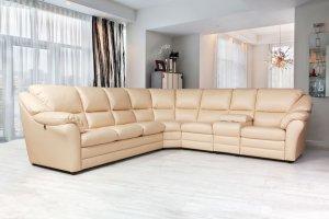 Сан-Ремо угловой диван-кровать с баром (Сан-Ремо 4) - Мебельная фабрика «Ваш День»