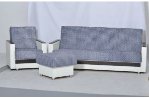 Серый диван Ретро - Мебельная фабрика «Slav-MEBEL»