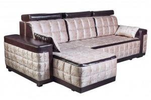 Серый диван с подголовниками София 11 - Мебельная фабрика «Царь-Мебель»