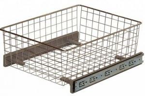 Корзина сетчатая  для кухни под нижнюю базу - Оптовый поставщик комплектующих «ЮММ-ТЕХНО»