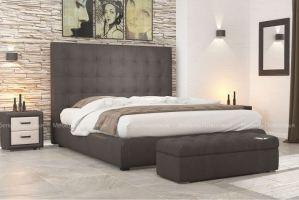 Кровать с увеличенным изголовьем Шанель 2 - Мебельная фабрика «Мебель Поволжья»