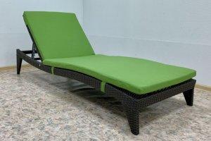 Шезлонг из искусственного ротанга - Мебельная фабрика «АртРотанг»
