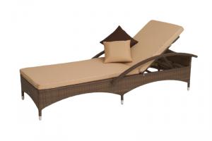 Шезлонг из искусственного ротанга Мальта-2 - Мебельная фабрика «Мебельторг»