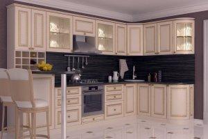 Угловая кухня Шик - Мебельная фабрика «Алмаз-мебель»