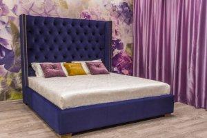 Шикарная кровать Сиена люкс - Мебельная фабрика «Уют»