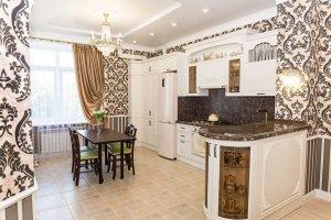 Шикарная кухня Эмаль - Мебельная фабрика «Корпус»