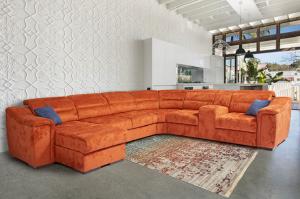 Шикарный диван п-образный Island - Мебельная фабрика «Ангажемент»