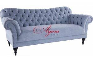 Шикарный диван со стяжкой Дамас - Мебельная фабрика «Агора Мебель»