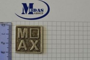 Шильдик (логотип) LOGO 06 - Оптовый поставщик комплектующих «MEDAS»