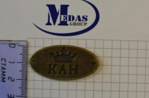 Шильдик (логотип) LOGO 13 - Оптовый поставщик комплектующих «MEDAS»
