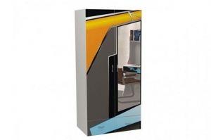 Шкаф 2-х дверный Pilot с зеркалом - Мебельная фабрика «ABC King»