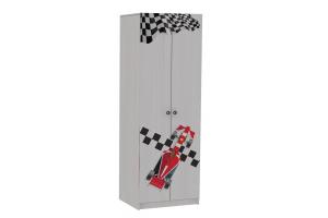 Шкаф 2-х дверный Рио Анкор белый - Мебельная фабрика «RealMebel»