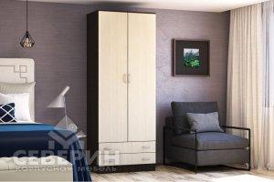 Шкаф 2-х створчатый Трио - Мебельная фабрика «Северин»