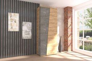 Шкаф 2-створчатый Аллегро 10 - Мебельная фабрика «ДИАЛ»