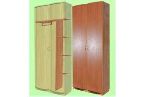 Шкаф 2х-дверный комбинированный для одежды и белья - Мебельная фабрика «КрайМебель-Краснодар»