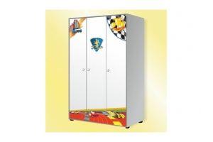 Шкаф 3-дверный Silver Metallic - Мебельная фабрика «GRIFON»