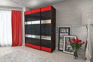 Шкаф 3-х дверный 2000 навесная система - Мебельная фабрика «ITF Mebel»