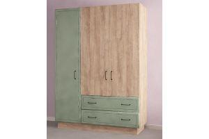 Шкаф 3-х дверный Ханна (зеленая) - Мебельная фабрика «Комфорт-S»