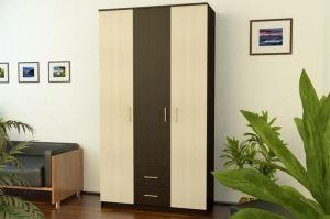 Шкаф трехдверный с ящиками - Мебельная фабрика «Империя»