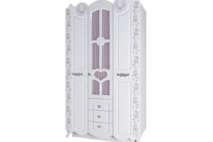 Шкаф трехстворчатый Розалия 25 - Мебельная фабрика «Аквилон»