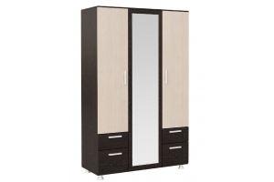 Шкаф 3-х створчатый с ящиками Рио-3 - Мебельная фабрика «Мастер-Мебель»