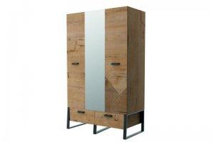 Шкаф 3х дверный в детскую 01.368а - Мебельная фабрика «Интеди»