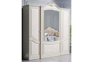 Шкаф четырехдверный Инканто - Мебельная фабрика «Кубань-Мебель»