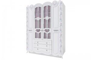 Шкаф четырехстворчатый Розалия 24 - Мебельная фабрика «Аквилон»