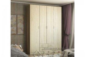 Шкаф 4-х створчатый - Мебельная фабрика «ВВР»