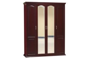 Шкаф 4-х створчатый из массива - Мебельная фабрика «Pines (Пайнс)»