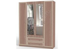 Шкаф 4х дверный - Мебельная фабрика «Алтай-Командор»
