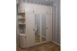 Шкаф 4х дверный бежевый - Мебельная фабрика «Valery»