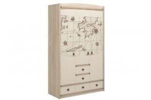 Шкаф Атлантида Лагуна с рисунком - Мебельная фабрика «Мебель-Москва»