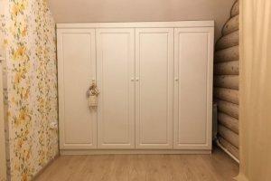 Шкаф белый 16 147 1 - Мебельная фабрика «Святогор Мебель»