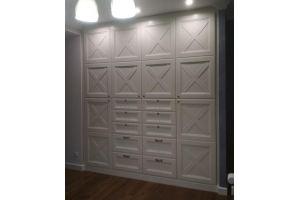 Шкаф белый Монталия 123 - Мебельная фабрика «Монолит»