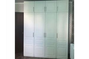 Шкаф белый с фрезеровкой - Мебельная фабрика «Гранд Мебель»