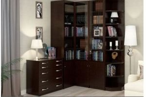 Шкаф Библиотека 1 - Мебельная фабрика «Прибалтмебель»