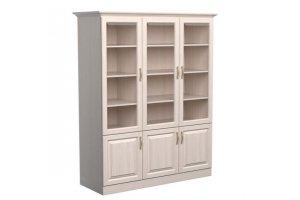 Шкаф библиотека Эдем 3-х створчатая - Мебельная фабрика «Дримлайн»